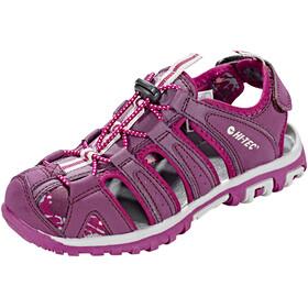 Hi-Tec Cove Shoes Junior Boxed grapewine/amaranth/boysenberry